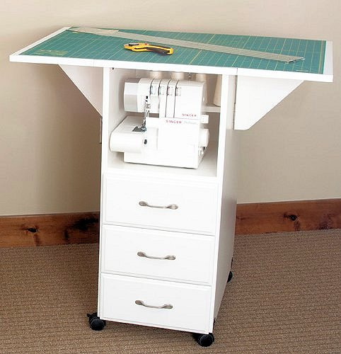 Utility Tables 3 Drawer Cutting Craft Table