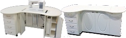 image of 4 drawers, Rounded Edges, Pocket Doors, Electric Lift, WH, Opening:29x13.75, Ins:29x14 Galaxy